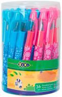Ручка перьевая ZiBi KIDS Line ZB.2241 с открытым пером 36шт. ассорти