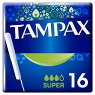 Тампони гігієнічні Tampax super 16 шт.