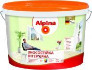 Фарба Alpina Зносостійка B1 білий 10л