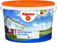 Фарба Alpina Довговічна фасадна B1 білий 10л