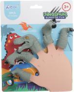Набір іграшок на пальці Dinosaur 2 5 насадок 1073A