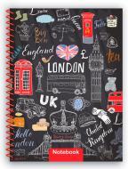 Блокнот Travelling: ENGLAND А5 80 аркушів E21953-02 Economix