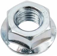 Гайка шестигранная зубчастая с буртиком М5 20 шт DIN 6923 Expert Fix