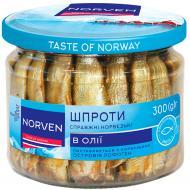 Шпроти в олії Norven 300 г