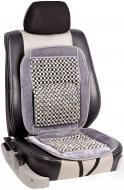 Накидка на сидіння Vitol з масажем сіра MF 825-1 GY