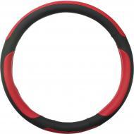 Чохол на руль Vitol 17023RD M чорний із червоним