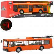 Троллейбус Play Smart Оранжевый (AS-1825)