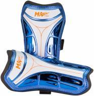 Щитки футбольні MaxxPro SG-B1905 р. M синій