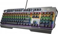 Клавіатура ігрова Trust GXT 877 Scarr Mechanical USB Black (23723) black
