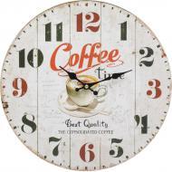 Годинник настінний Coffe time 33,8 см 16AC37