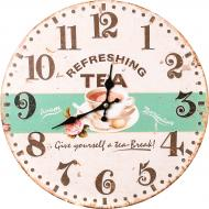 Годинник настінний Tea time 33,8 см 16AC18