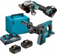 Набір електроінструментів Makita DLXMUA263E