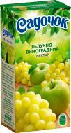 Нектар Садочок Яблучно-виноградний 0,5л (4820001449624)