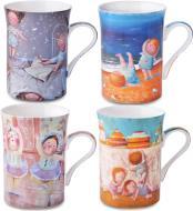 Набор чашек для чая Lefard 300 мл 4 шт. 924-023 Gapchinska