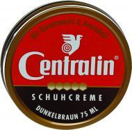 Крем для обуви Centralin в банке 75 мл темно-коричневый