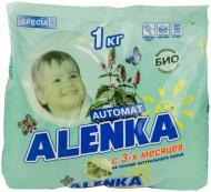 Пральний порошок для машинного та ручного прання Alenka антибактеріальний 1 кг