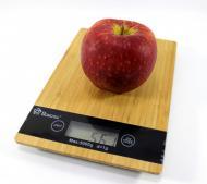 Электронные кухонные весы до 5 кг с функцией TARE Domotec MS-A Коричневые (20053100103)
