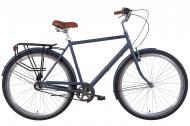 """Велосипед 28"""" Dorozhnik COMFORT MALE сірий із чорним OPS-D-28-204"""