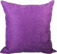 Подушка декоративна Велмарт 45x45 см пурпуровий