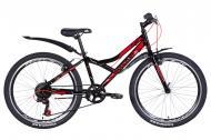"""Велосипед 24"""" Discovery FLINT чорно-синій із сірим OPS-DIS-24-221"""