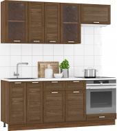 Кухня модульна Родос 1 МДФ 2 м