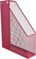 Лоток для паперів 24.2х6.7х31.3 см рожевий