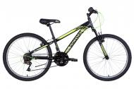 "Велосипед 24"" Discovery RIDER чорно-салатовий OPS-DIS-24-266"