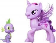 Игровой набор Hasbro Princess Twilight Sparkle Spike And The Dragon Friendship Duet