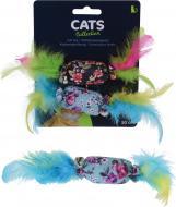 Іграшка для котів із пір'ям 2 шт.