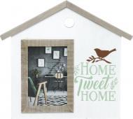 Рамка для фото Home sweet home 10x15 см
