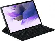 Чохол-клавіатура Samsung EF-DT730 Galaxy Tab S7+ / S7 FE black (EF-DT730BBRGRU) SLIM