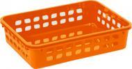 Кошик для зберігання пластиковий Lamela 272 помаранчевий 60x190x255 мм