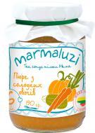 Пюре Marmaluzi з солодких овочів 190 г 4779034140216