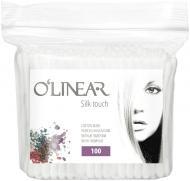 Ватні палички O'Linear silk touch 100 шт. (м'яка уп.)