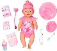 Пупс Zapf Baby Born Мила крихітка 43 см із чіпом та аксесуарами 822005