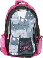 Рюкзак шкільний Коти
