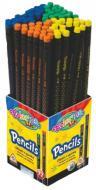 Олівець чорнографітний 65436PTR зірочки Colorino