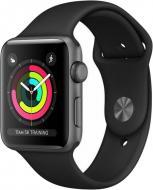 Смарт-годинник Apple Watch Series 3 GPS 38mm Space Grey Aluminium Case grey (MTF02GK/A)