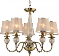 Люстра Victoria Lighting Donatella/SP5 5x40 Вт E14 бежевий/золотий