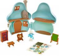 Набор фигурок Jakks Pacific Smurfs Mushroom House Brainy Smurf 96572 (96570)
