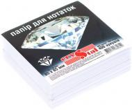 Папір для нотаток 85x85 мм 400 аркушів білий Crystal