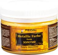 Декоративна фарба Feidal Metallic Farbe золото 0.1 л