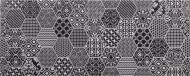 Плитка Атем Sote Pattern Bk Декор 20x50