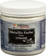 Декоративна фарба Feidal Metallic Farbe срібний 0.4 л