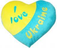 Тигрес Я люблю Украину сердце 10 см