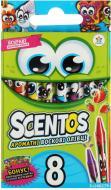 Набір олівців Scentos воскових Дружна компанія