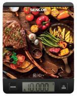 Весы кухонные Sencor SKS 7001BK