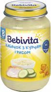 Пюре Bebivita Кабачок з курчам і рисом 220 г 9007253104210