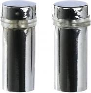 Держатель для стекла дистанционный KR STK 1B 12х25 мм хром 2 шт./уп. DC