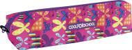 Пенал шкільний м'який Butterflies CF85206 Cool For School рожевий із малюнком